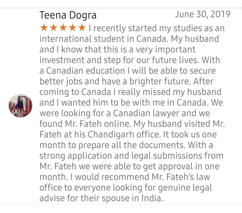 Best Spouse Visa Lawyer